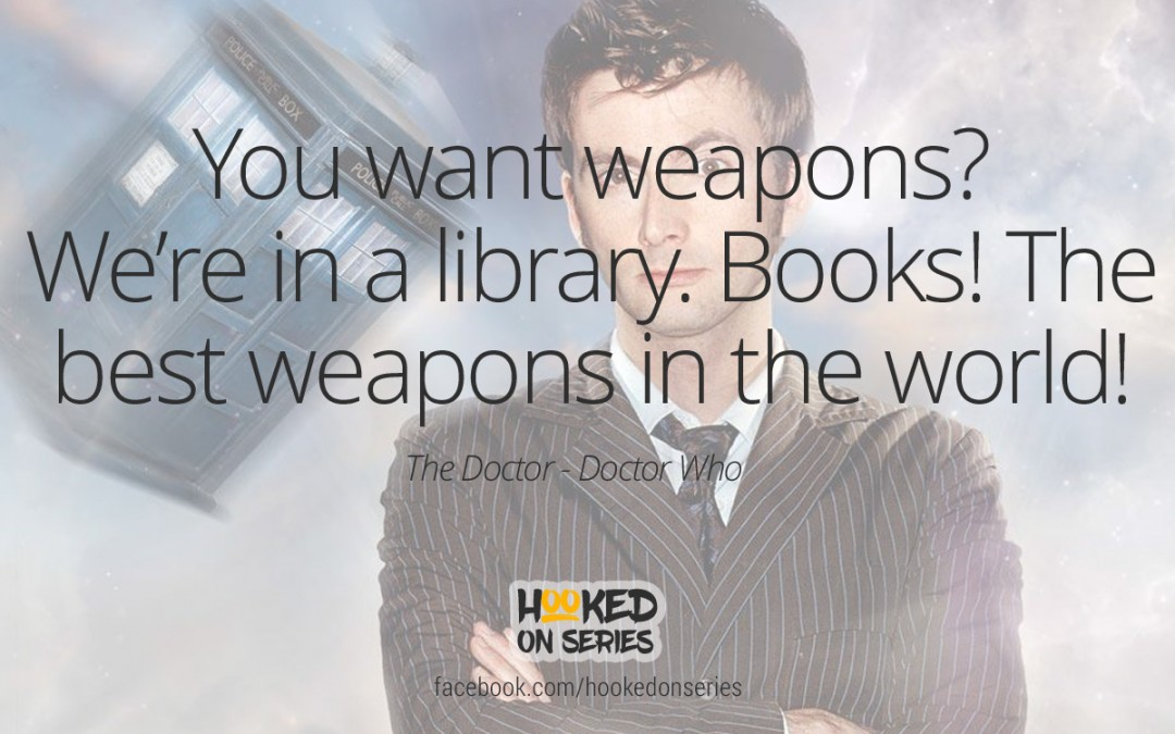 Doctor Who quote, The Doctor
